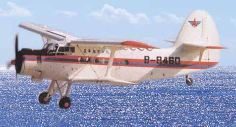 是按照前苏联安东诺夫设计局设计的安-2飞机的图纸