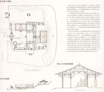 佛光寺平面图