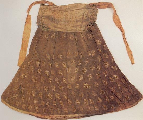 手工折纸裙子步骤图解