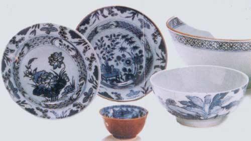 中国瓷器在海底世界