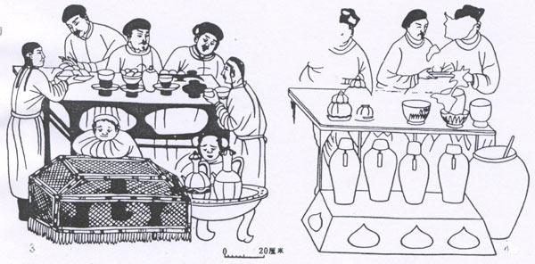 中国茶壶简笔画
