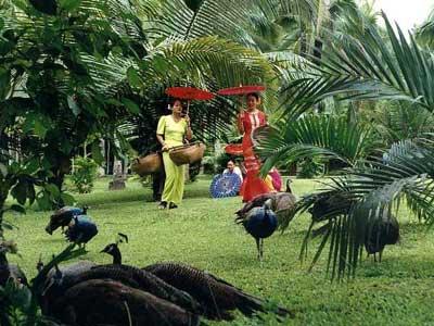 超模半裸出镜 演绎人与自然和谐共处