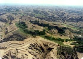 黄土高原地貌
