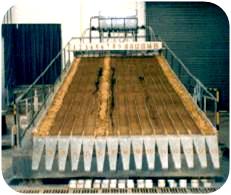固定式可变坡钢体土槽