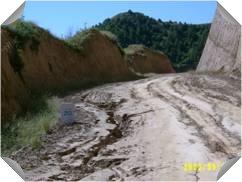 沟坡道路侵蚀