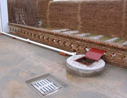 庭院竖井式混凝土水窖