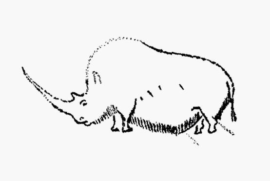 动物文明公益广告简笔画