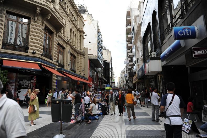 布宜诺斯艾利斯 中国/布宜诺斯艾利斯——具有欧洲风情的街道(图片来源:中国科学...