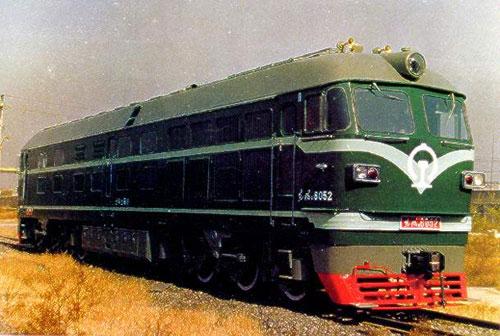 东风4B型内燃机车