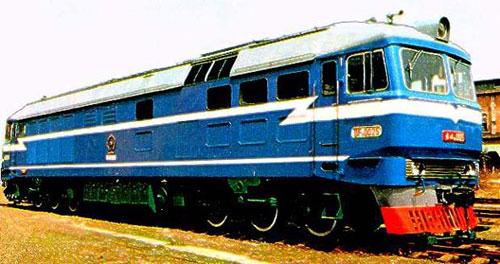东风8型内燃机车