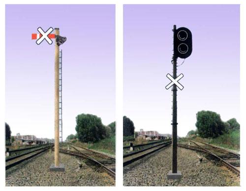 安康电务段更换高柱信号机